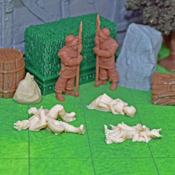 Corpses - Mini set of mini dead minis