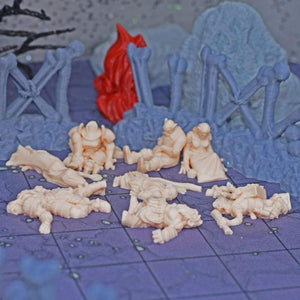 Corpses - Oh the humanity! Even more Dead Minis TPK Set 2 - FDM Print - Dark Realms