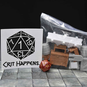 CRIT! Crit Happens -- 3D Prints - 3D Printed Bundle - GriffonCo