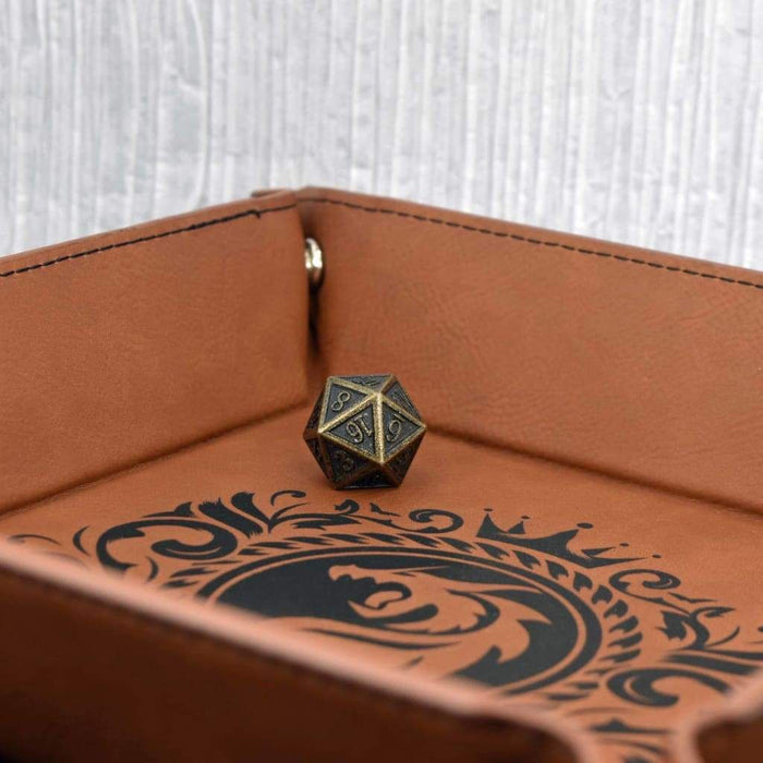 Dice Tray - Dragon Emblem