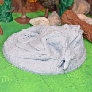 Dragon - Dead Dragon Marker - FDM Print - Lost Dragons