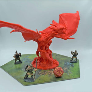 Dragon - Fire Twin - FDM Print - Lost Dragons