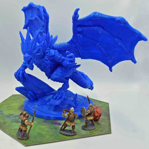 Dragon - Ice Dragon - FDM Print - Lost Dragons