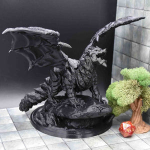 Dragon - Molten Mother Dragon - FDM Print - Lost Dragons