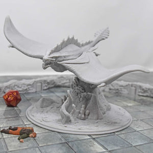Dragon - Water Dragon - FDM Print - Lost Dragons