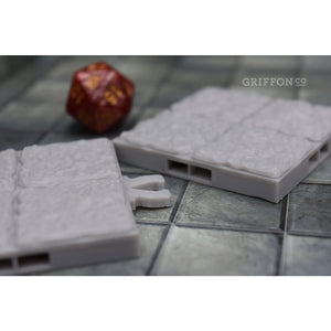 Dragonlock Clips for Dungeon Tiles - FDM Print - Fat Dragon Games