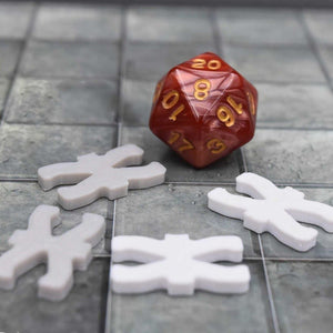 DragonLock Tiles - Cavern - Column Tile - FDM Print - Fat Dragon Games