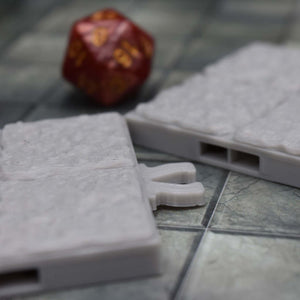 DragonLock Tiles - Dungeon - Alcove - FDM Print - Fat Dragon Games