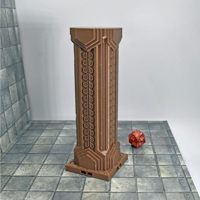 DragonLock Tiles - Dwarven - Large Pillar