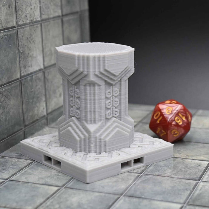 DragonLock Tiles - Dwarven - Small Pillar