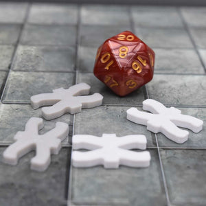 DragonLock Tiles - Dwarven - Small Pillar - FDM Print - Fat Dragon Games
