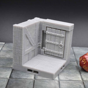 DragonLock Tiles - Tavern - Door Tile - FDM Print - Fat Dragon Games