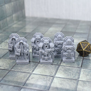 Dwarven Statue Sets - FDM Print - Fat Dragon Games