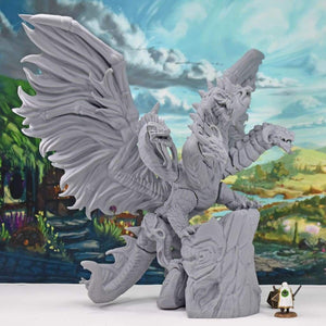 Elemental Queen Dragon - FDM Print - Lost Dragons