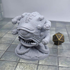 ANGRY Eyebeast Monster Miniature - ANGRY Eyebeast Monster Miniature - 3D Printed, Aberration, Beholder, best, Dungeon, Eyebeast, Fantasy, Fat Dragon Games, FDM Miniature, Monster, PLA