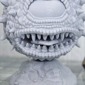 Beholder Eyebeast Monster - Giant Miniature - Beholder Eyebeast Monster - Giant Miniature - 3D Printed, Aberration, Beholder, Dungeon, Eyebeast, Fantasy, Fat Dragon Games, FDM Miniature, Monster, PLA