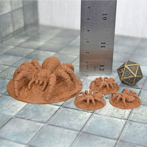 Giant Spiders - FDM Print - Fat Dragon Games