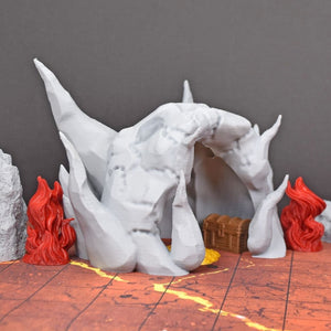 Hellmouth Cave Entrance - FDM Print - Ill Gotten Games