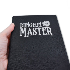 Dungeon Master Quest Journal - Dungeon Master Quest Journal - Dungeon Master, Dungeons and Dragons, Gift, Journal, Laser Engraved, Leatherette, Notebook, Paper, Quest Journal