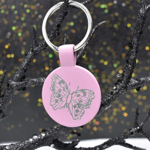Keychain Metal - Butterfly - Accessories - GriffonCo