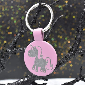 Keychain Metal - Unicorn - Accessories - GriffonCo
