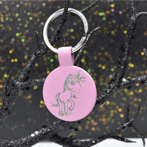Keychain Metal - Unicorn Eyes - Accessories - GriffonCo