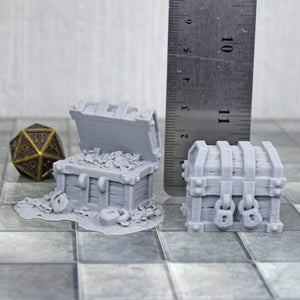 Large Chests - FDM Print - Lost Adventures