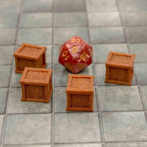 Loot - Crate - Small - FDM Print - Fat Dragon Games