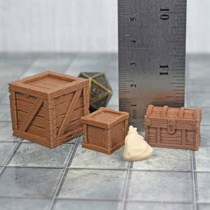 Loot - Shipment Assortments - FDM Print - Fat Dragon Games