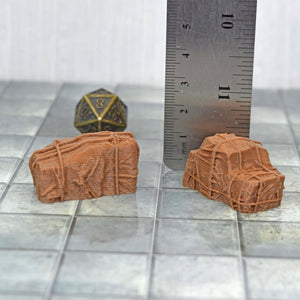 Loot - Tarped Covered Cargo Sets - FDM Print - EC3D / Heros Hoard