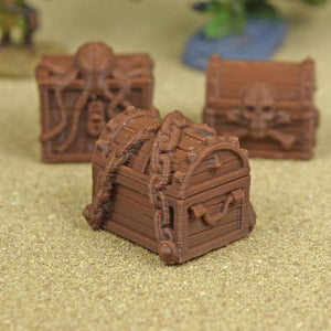 Loot - Treasure Chest - Pirate Sea Chests - FDM Print - EC3D / Heros Hoard