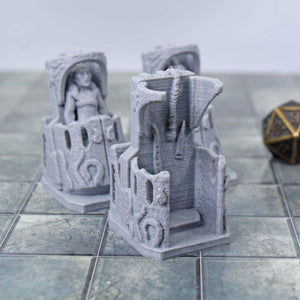 Mindflayer Containment Tubes - FDM Print - EC3D / Heros Hoard