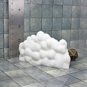 Miniature Cloud Wall - FDM Print - Nickey's Hatchery