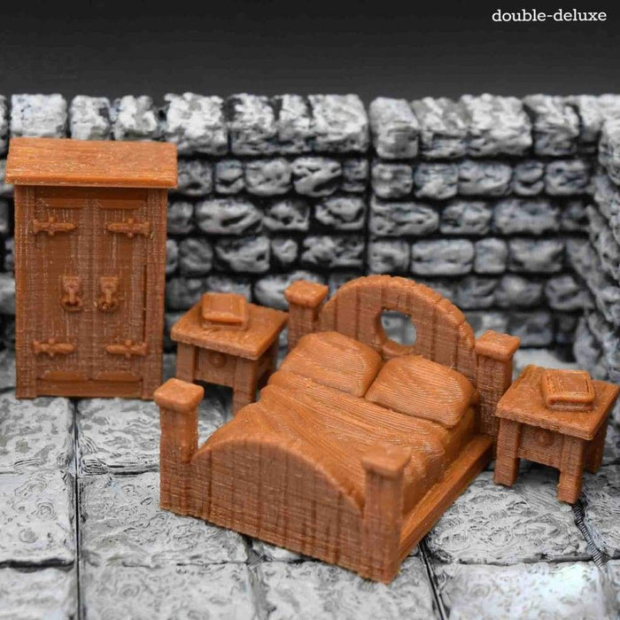 Miniature Furniture - Bed Sets