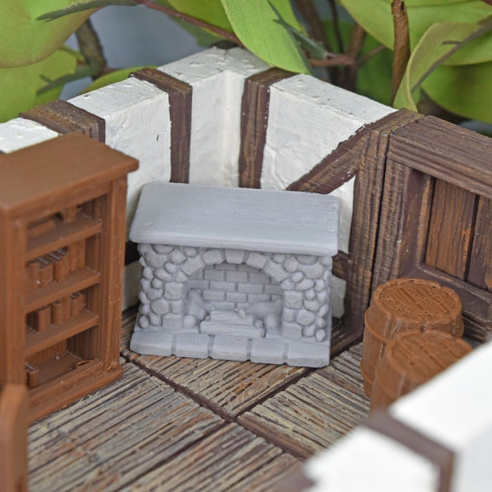 Miniature Furniture - Fireplace
