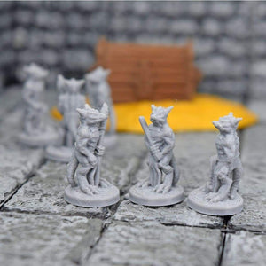 Miniature Kobold Army - FDM Print - Fat Dragon Games