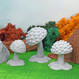 Mushrooms - FDM Print - Fat Dragon Games