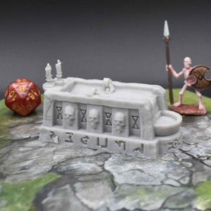 Occult and Evil Set - Sacrificial Altar - FDM Print - EC3D / Heros Hoard