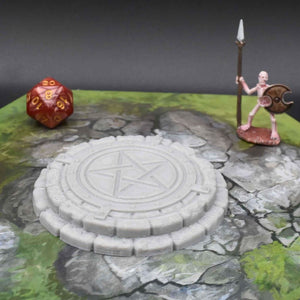 Occult and Evil Set - Summoning Circle - FDM Print - EC3D / Heros Hoard