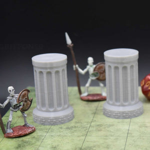 Pillar - Round - FDM Print - Fat Dragon Games