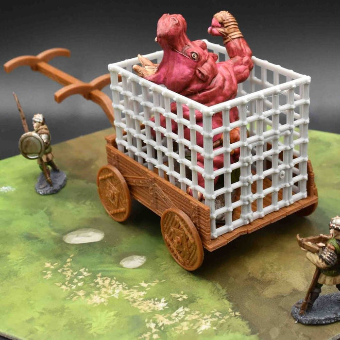 Prison Wagon Cart