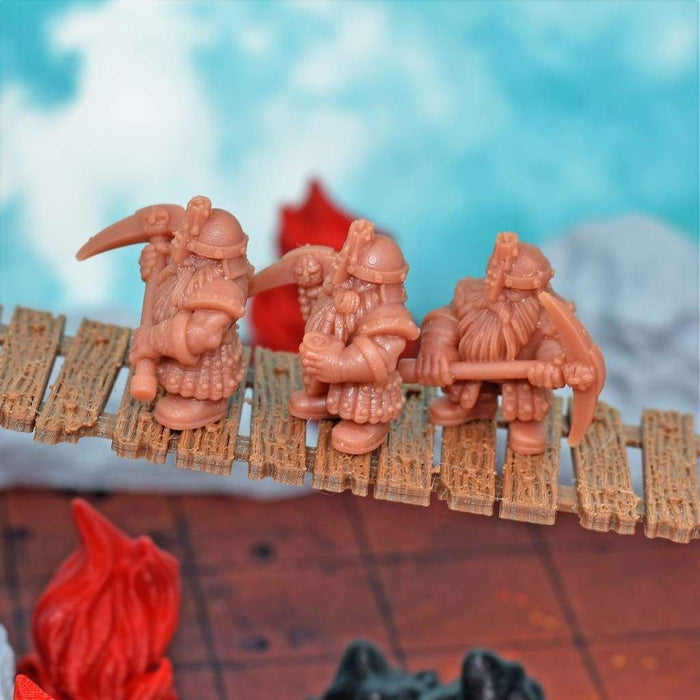 Dwarven Mining Company Resin Miniatures