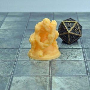 Resin Miniature - Ghoul Eating Leg - Resin Print - Lost Adventures
