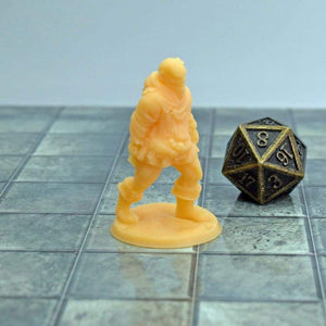 Resin Miniature - Male Zombie - Resin Print - Lost Adventures