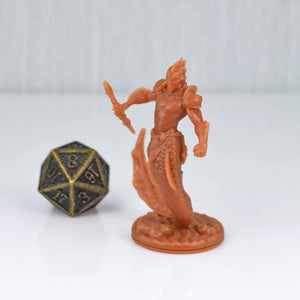 Resin Miniature - Merman Warrior - Resin Print - EC3D / Heros Hoard