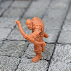 Resin Miniature - Orc Archer - Firing - Resin Print - Duncan Shadow