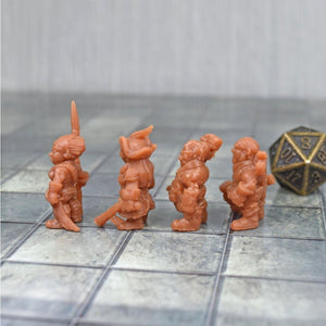Resin Miniature - Pirate Crew - Resin Print - EC3D / Heros Hoard
