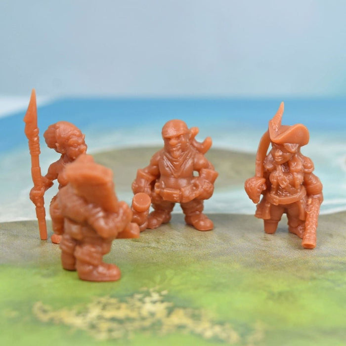 Resin Miniature - Pirate Crew