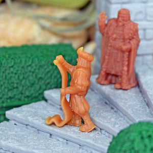 Resin Miniature - Town Crier - Resin Print - Vae Victis