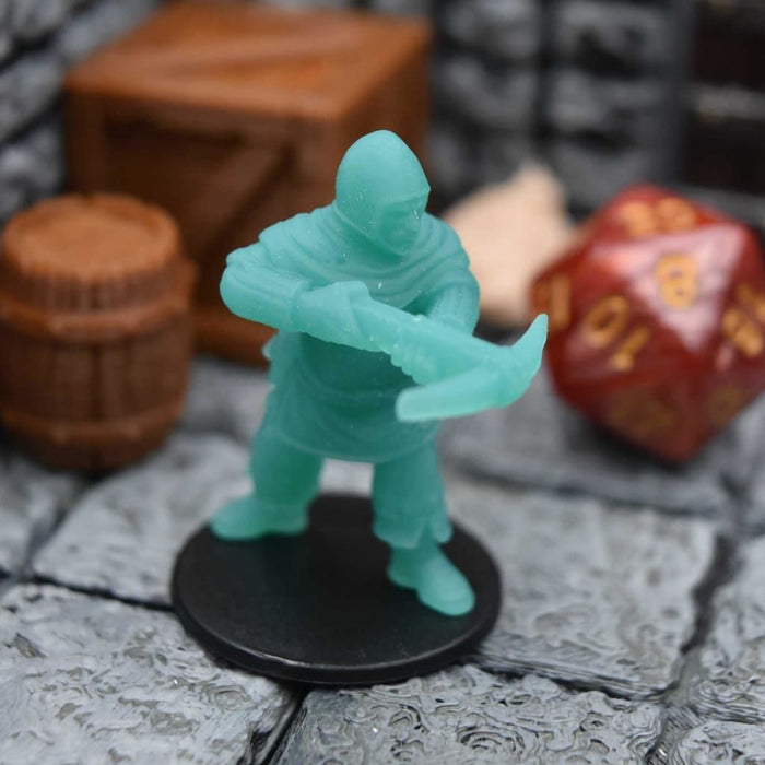 Resin Miniature - Town Guard Crossbowman side Pouch